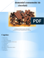 Studiu in domeniul consumului de ciocolata