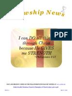 May 27, 2015 The Fellowship News