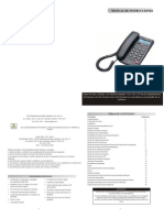 Manual Telefono TC-8300