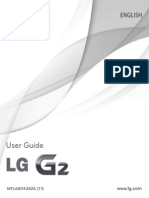 LG G2 D802 User Manual