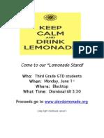 Lemonade Flyer