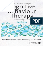 An Introduction to Cognitive Behaviour Therapy - Skills and Applns. 2nd Ed. - D. Westbrook, Et Al., (Sage, 2011) [ECV] WW