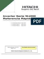 Inverter Serie WJ200_Hitachi