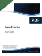 RESI Investor Presentation January 2015