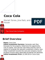 coca cola- portfolio project