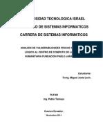 Analisis de Vulnerabilidades Fisicas y de Acceso Logico Al Centro de Computo