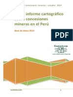 Sexto Informe de Concesiones Mineras Octubre_2014