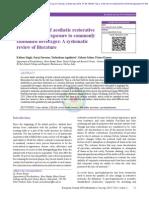 articol protetica 2015 2014 stomatologie