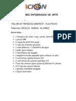 Talleres Integrados de Arte-2015