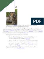 Biodiversidad en peru y el mundo