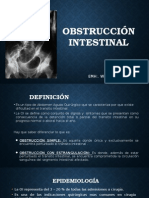 Obstrucción Intestinal 2015