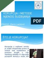 Korupcija i Metode Njenog Suzbijanja - Lackovic M
