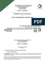 Diagnóstico de Salud Gualterio 2014
