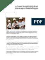 Pozo 20150502_MGR7 Confirma El Descubrimiento de Un Nuevo Reservorio de Gas en Margarita Huacaya