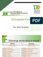 Concepções Éticas Slide