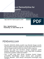 JURNAL Prednisolone or Pentoxifylline for Alcoholic Hepatitis
