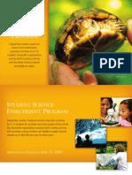 BWF Student Science Enrichment Program