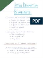 Tema 3 - Estadística Descriptiva Bivariante