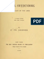 EMANUEL SWEDENBORG the Servant of the Lord a True Story for the Young by Carl Theophilus Odhner New York 1900