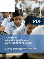 3.Guidance on National Action Plan on Business and Human Rights. UN Working Group on Business and Human Rights, December 2014.