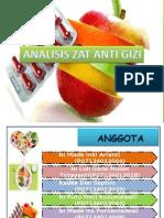 Analisis Anti Zat Gizi Klp 10