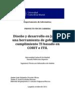 Cuestionario y Tesis Cobit ITIL JAVA