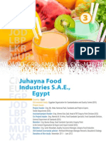 2012 Economic Benefits of Standards2 Egypt Juhayna Food Industries En