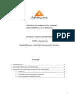 Estrutura e Analise Das Demostraçoes Financeiras