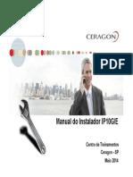 Manual Instaladores Ceragon
