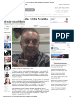 18-05-15 A 17 días de la elección, Héctor Astudillo el más consolidado - Notimundo