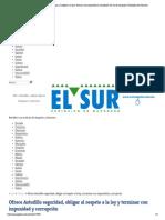 18-05-15 Ofrece Astudillo seguridad, obligar al respeto a la ley y terminar con impunidad y corrupción _ El Sur de Acapulco I Periódico de Guerrero