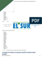 21 15-05-15 Los hechos de violencia no ameritan cancelar la elección, insiste Astudillo _ El Sur de Acapulco I Periódico de Guerrero