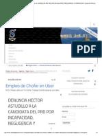 19 14-05-15 DENUNCIA HECTOR ASTUDILLO A LA CANDIDATA DEL PRD POR INCAPACIDAD, NEGLIGENCIA Y CORRUPCION _ Síntesis de Guerrero