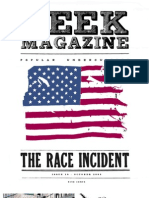 Deek Magazine #18 - The Race Incident