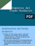 Sedimentos Del Fondo Oceánico