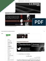 Chesterton - A História Da Família