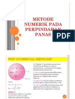 Metode Numerik Perpindahan PAnas