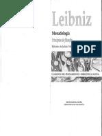 Monadologia Principios de Filosofia Leibniz