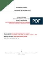 Términos Integra Mod II 2 Proyecto en Operación Agroganadera Muraza 17-06-2014