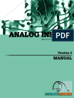 Analog Insydes Manual