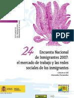 Encuesta Nacional Inmigrantes2007