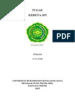 Tugas Kereta API (Wesel) - FITRIANI