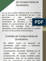 Presentación contrato CV suministros