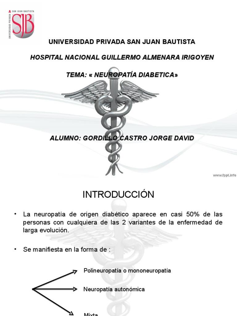 documento de scribd de polineuropatía y diabetes