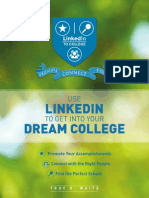 Use LinkedIn to Get Into Your Dream College :