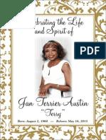 Jan Terrier Austin Memorial