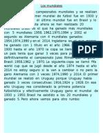 Los mundiales  la  historia.docx