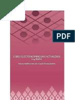 Código Electoral Con Ley de Financiamiento