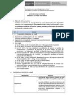 Procesos CAS N° 033-2015-MIDIS