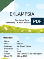 Presentasi Lapsus EKLAMPSIA